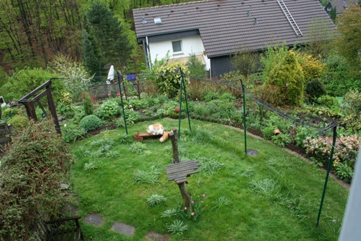 Wir Haben Im Garten Ein Katzengehege Gebaut: